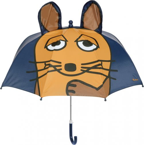 Playshoes---Umbrella-for-kids---Mouse-with-3D-ears---Navy