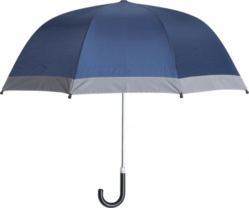 Playshoes---Children's-umbrella-with-Reflectors---Navy
