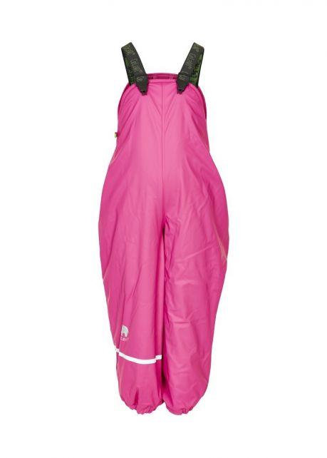 CeLaVi---Rain-Pants-with-Fleece-for-kids---Real-Pink