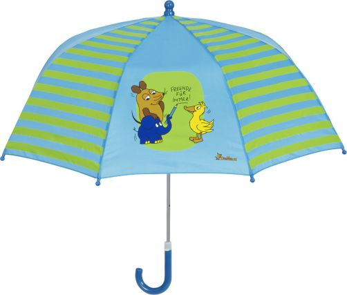 Playshoes---Umbrella-for-kids---Mouse---Friends-4-Ever---Blue