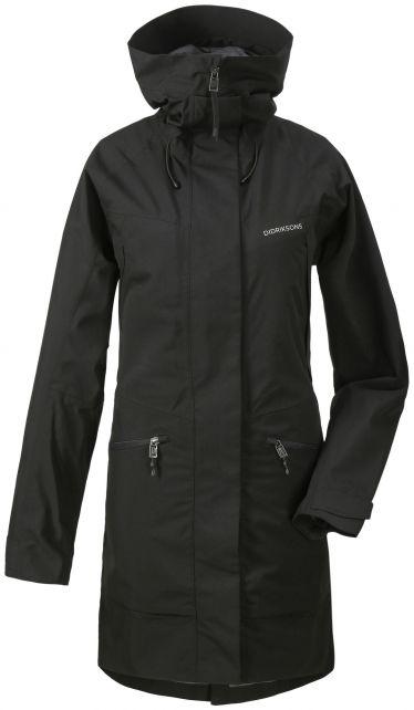 Didriksons---Raincoat-for-women---Ilma-Parka---Black