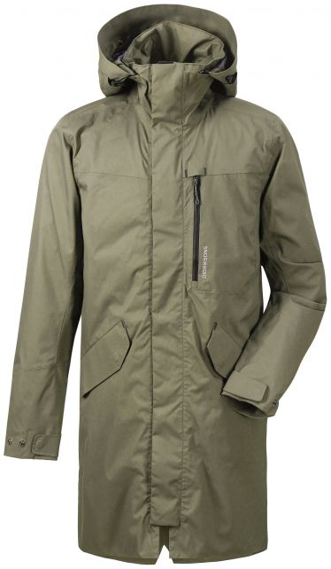 Didriksons---Raincoat-for-men---Arnold-Parka---Fog-green