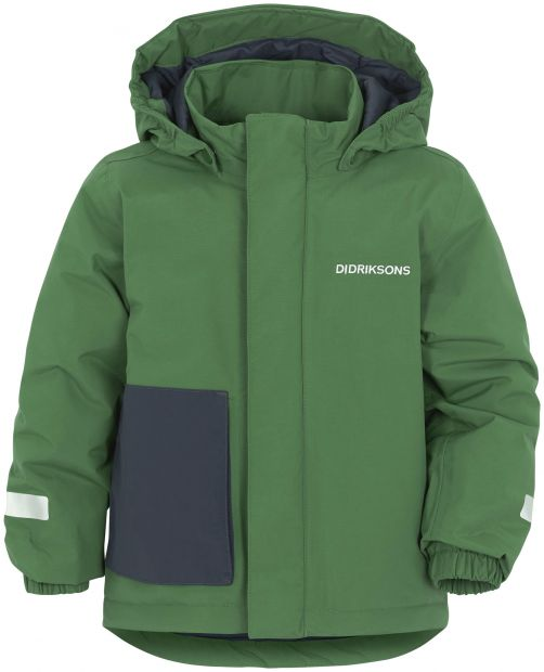 Didriksons---Padded-rain-jacket-for-children---Lovis---Leaf-Green