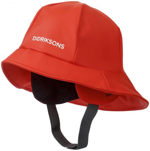 Didriksons---Rain-hat-for-children---Southwest---Poppy-Red
