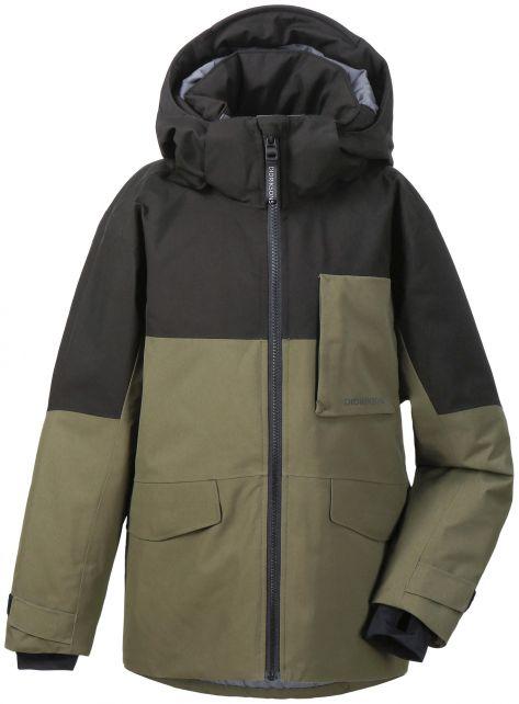 Didriksons---Padded-rain-jacket-for-boys---Luke---Fog-Green