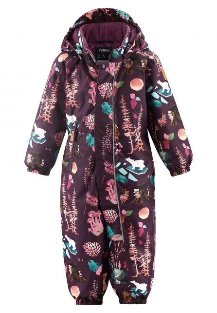 Reima---Snowsuit-for-babies---Reimatec---Puhuri---Deep-purple-forest