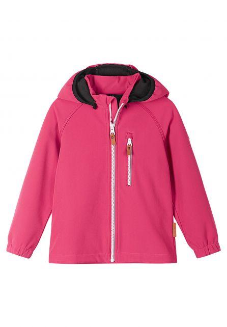 Reima---Softshell-jacket-for-children---Vantti---Azelea-pink