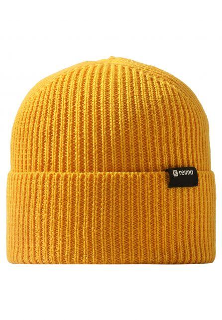 Reima---Beanie-for-babies---Reissari---Orange-yellow