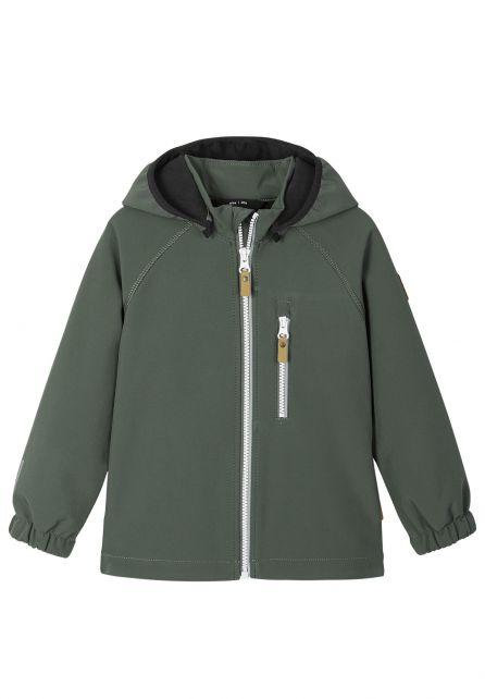 Reima---Softshell-jacket-for-children---Vantti---Thyme-green