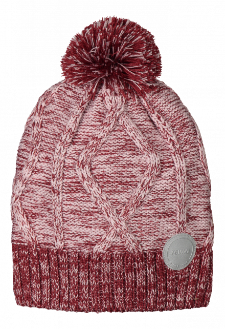 Reima---Beanie-for-babies---Routii---Jam-red