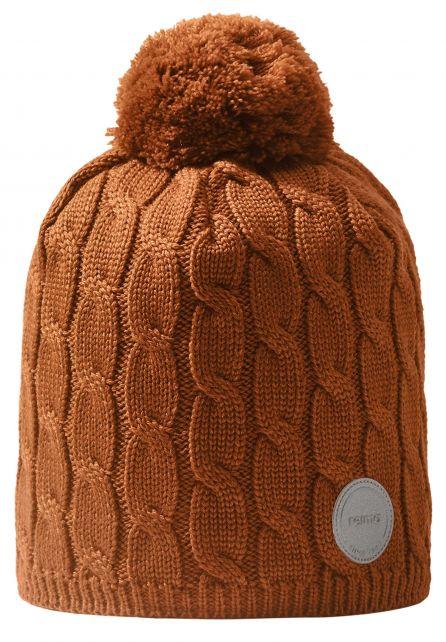 Reima---Beanie-for-babies---Nyksund---Cinnamon-brown