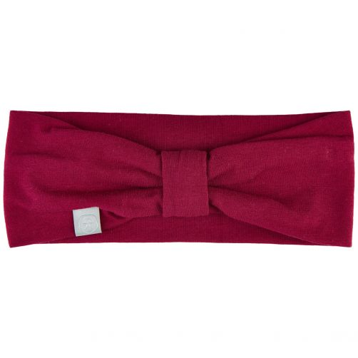 Color-Kids---Headband-for-girls---Bow---Beet-Red