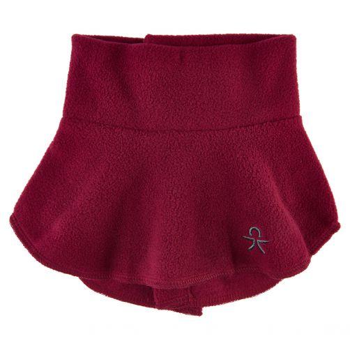 Color-Kids---Fleece-neckwarmer-for-children---Coll---Beet-Red