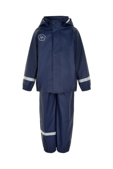 Color-Kids---Rainsuit-for-children---Solid---Dark-blue