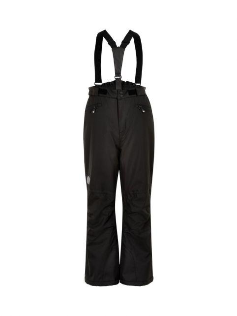 Color-Kids---Ski-pants-with-pockets-for-children---Solid---Black