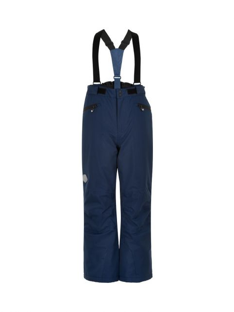 Color-Kids---Ski-pants-with-pockets-for-children---Solid---Dark-blue