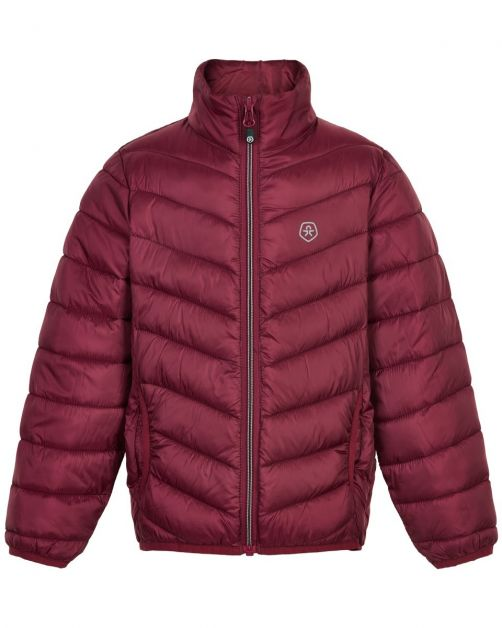 Color-Kids---Packable-jacket-for-children---Quilted---Beet-Red