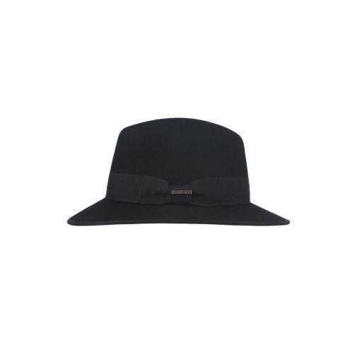 Hatland---Wool-hat-for-men---Yucatan---Black