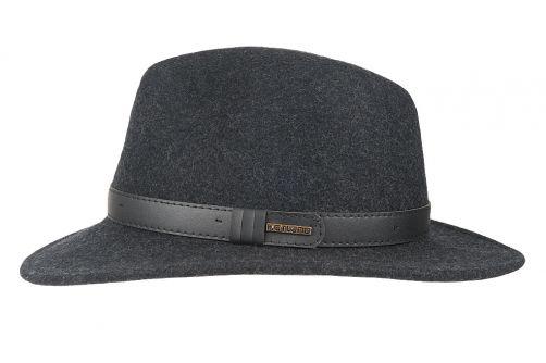 Hatland---Wool-hat-for-men---Verbank---Anthracite