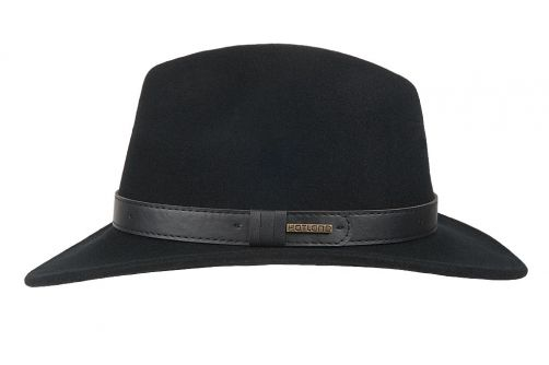 Hatland---Wool-hat-for-men---Verbank---Black