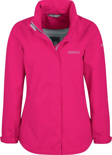 Pro-X-Elements---Packable-rain-jacket-for-women---Eliza---Cherry-pink