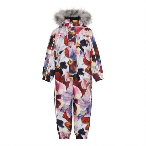 MOLO---Snow-suit-for-girls---Polaris-Fur---Giant-Floral