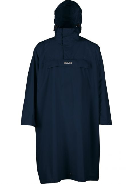 Pro-X-Elements---Hiking-poncho-for-adults---Arosa---Marine-blue