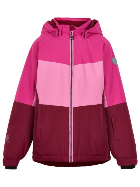 Color-Kids---Ski-jacket-for-girls---Colorblock---Fuchsia-Pink