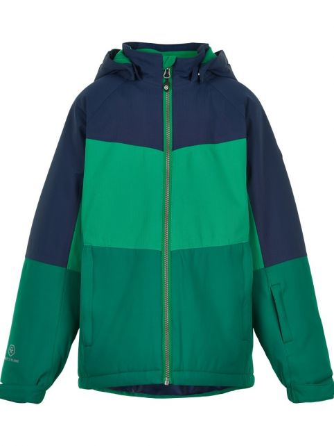 Color-Kids---Ski-jacket-for-boys---Colors---Green