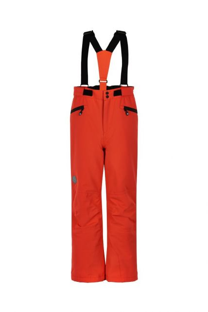 Color-Kids---Ski-pants-with-pockets-for-children---Solid---Red