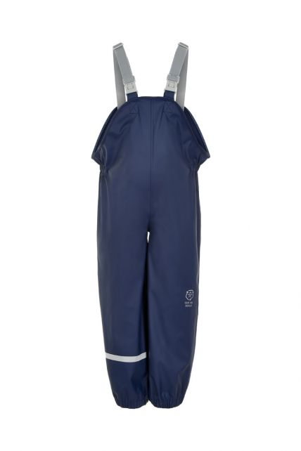 Color-Kids---Bib-rain-pants-with-suspenders-for-children---Recycled---Dark-blue