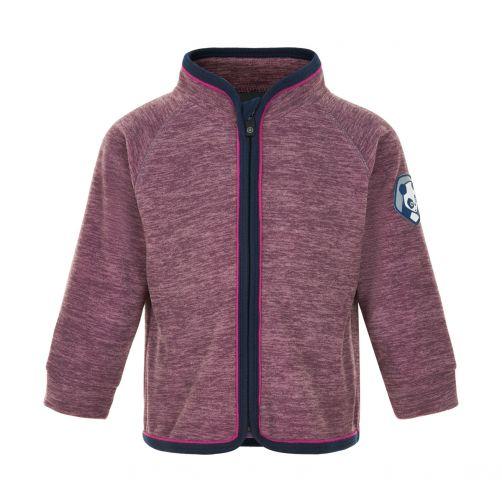 Color-Kids---Fleece-jacket-for-babies---Melange---Arctic-Dusk