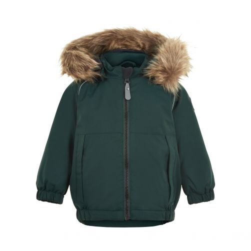 Color-Kids---Parka-jacket-for-baby-boys---Solid---Green-Gables