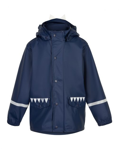Color-Kids---Rain-jacket-for-children---Dinosaur---Dark-blue