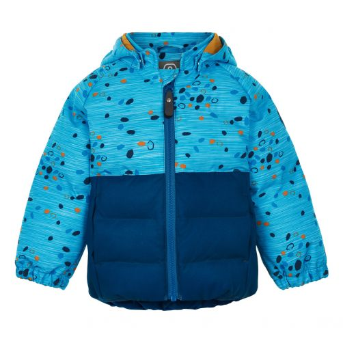 Color-Kids---Softshell-jacket-for-baby-boys---Dots---Surf-Blue