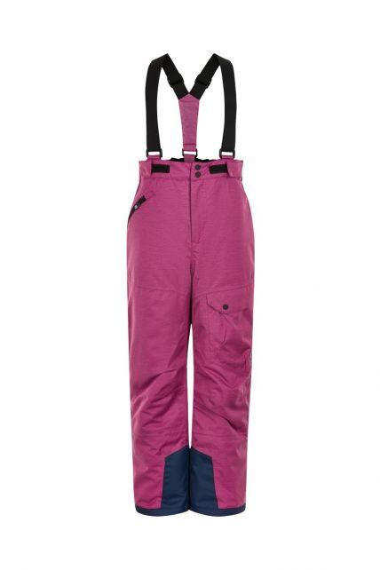 Color-Kids---Ski-pants-AF-20000-for-girls---Melange---Rose-Violet