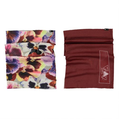 MOLO---Neck-warmer-for-girls---Tube---Giant-Floral
