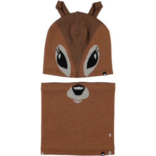 MOLO---Hat-&-neck-warmer-for-boys---Kleo---Deer