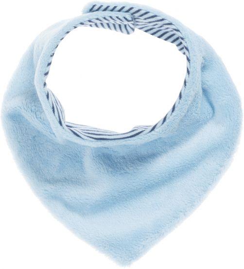 Playshoes---Fleece-shawl-triangle---Light-blue