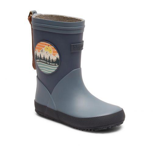 Bisgaard---Rain-boots-for-kids---Fashion-II---Blue