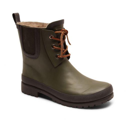 Bisgaard---Rain-boots-for-kids---Rain-Wool---Green