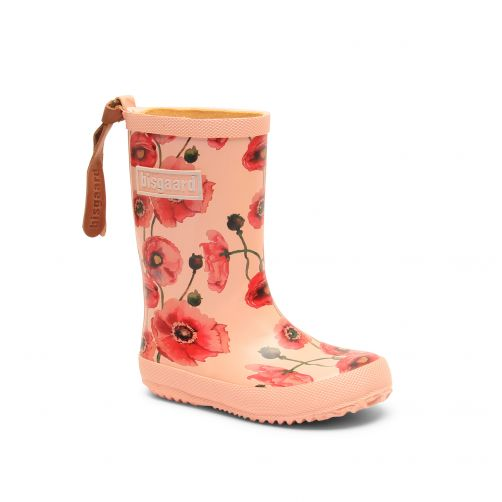 Bisgaard---Rain-boots-for-kids---Fashion---Nude-Flowers