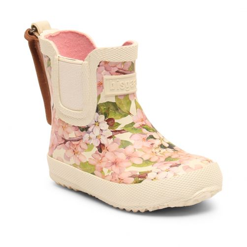 Bisgaard---Rain-boots-for-babies---Baby-Rubber---Creme-Flowers