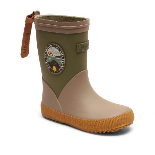 Bisgaard---Rain-boots-for-babies---Fashion-II---Green