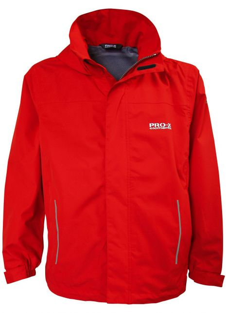 Pro-X-Elements---Packable-rain-jacket-for-boys---Freddy---Lava-red