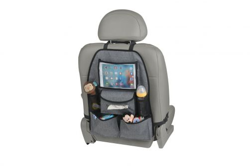 Altabebe---Deluxe-Backseat-Organizer-for-iPad/Tablet---Grey