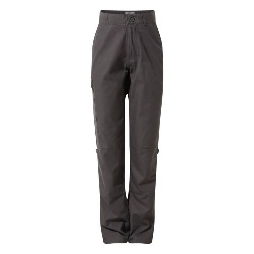Craghoppers---UV-Outdoor-pants-for-kids---Kiwi-II-Trousers---Black-Pepper