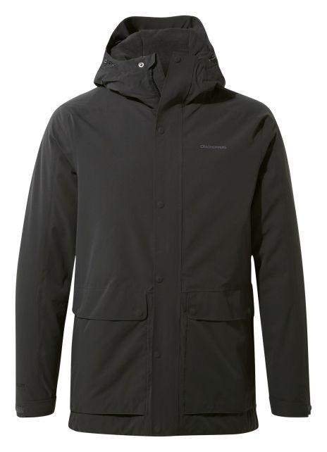 Craghoppers---Waterproof-thermic-jacket-for-men---Lorton---Black-Pepper