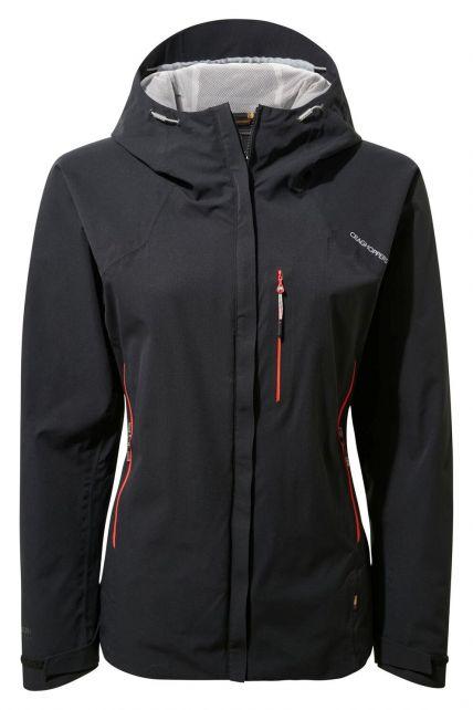 Craghoppers---Waterproof-shell-jacket-for-women---Explore---Black