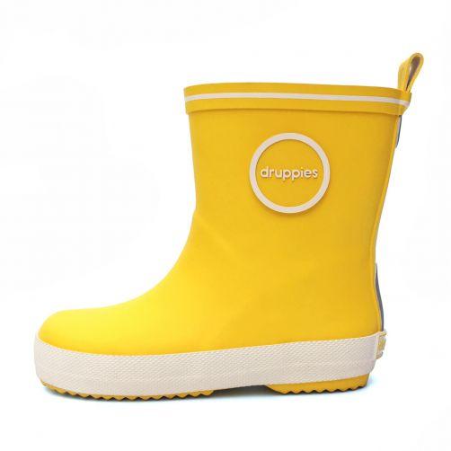 Druppies---Rainboots---Yellow